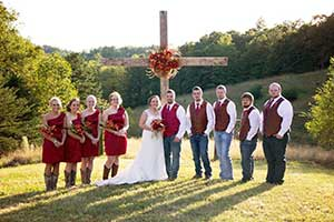 Wedding Couple,  Rustic Event and Barn Wedding Venue